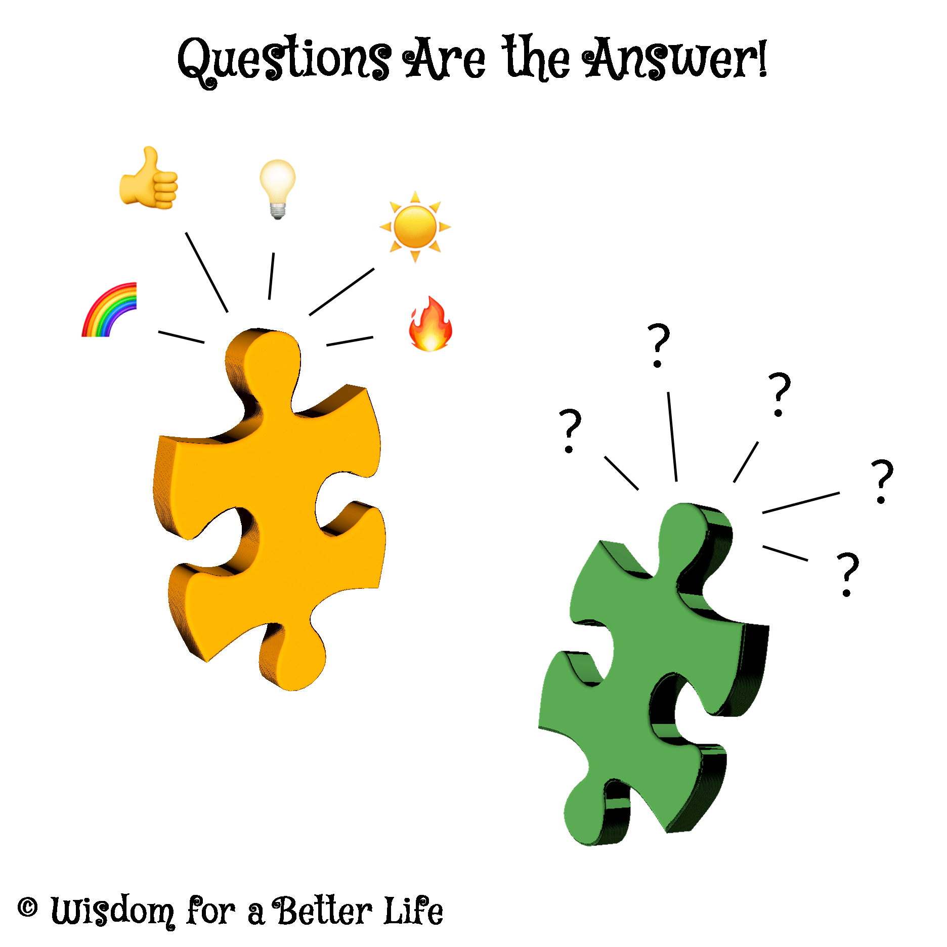 Wisdom for a Better Life - Questions Are the Answers!